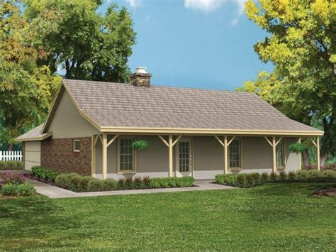 Elegant Country Style Ranch House Plans  New Home Plans