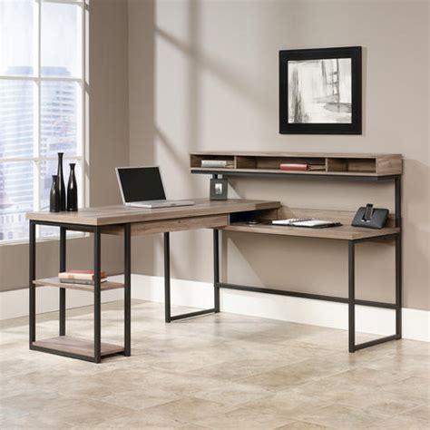 Sauder Salt Oak Executive Desk by Sauder Select Salt Oak L Shaped Desk At Menards 174