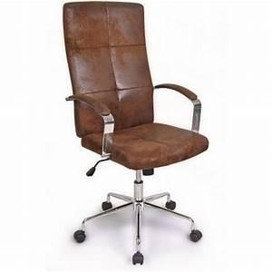 Chaise Bureau Vintage : fauteuil ministre newvers marron vintage achat vente chaise de bureau marron cdiscount ~ Teatrodelosmanantiales.com Idées de Décoration