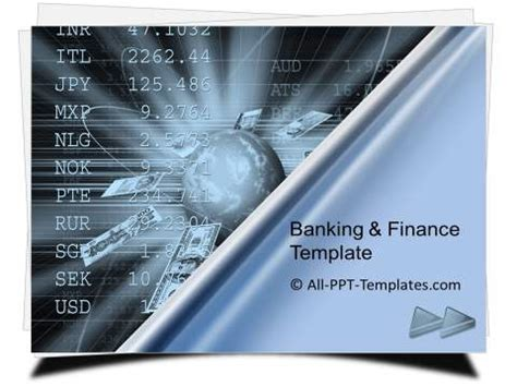 powerpoint banking  finance template sets