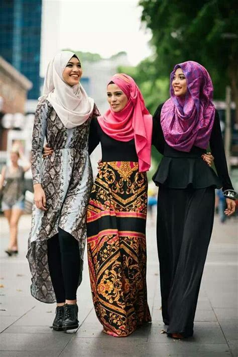 stail fesyen hijabista  cool stailo wanistacom