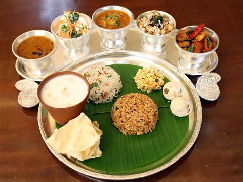 south indian prasadam thali indian food freak