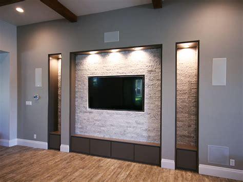 remodeling living room tv niche roxton custom home remodeling