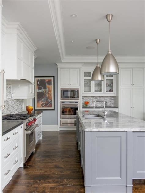 grey and white kitchen cabinets warm and grey kitchen cabinets ideas 6956