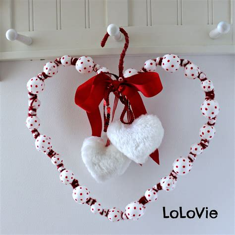 valentine s day wreath from christmas ornaments ikea hackers ikea hackers