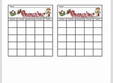 Behavior Calendar In December Calendar Template 2018