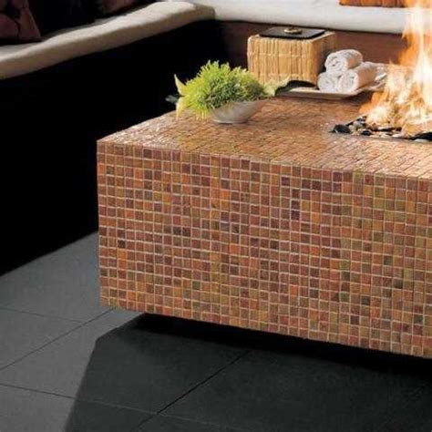 tiling outside corner with glass and stone tile the home