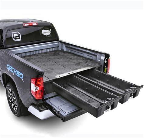 Decked Truck Bed Storage Canada by Decked Truck Bed Organizer Auto Truck Depot