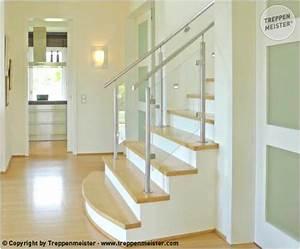 Treppengeländer Mit Glas : treppengel nder edelstahl holz glas itsbetter ~ Markanthonyermac.com Haus und Dekorationen