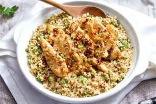 kitchen gardening ideas garlic lime chicken tenders and quinoa recipe eatwell101