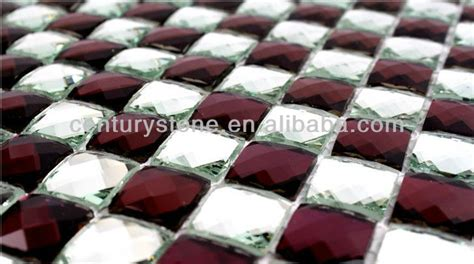 12x12 inch colorful faceted home decor backsplash beveled mirror tiles buy mirror