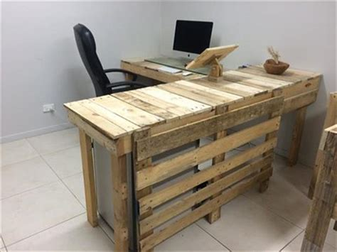 white chic pallet outdoor table pallet furniture