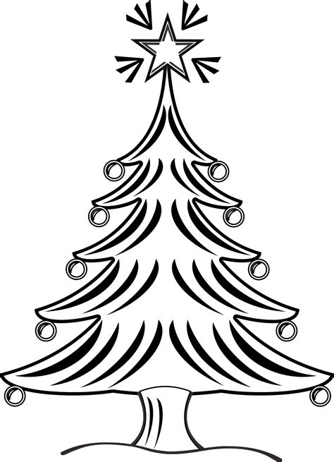 clipartistnet clip art xmas christmas tree  black