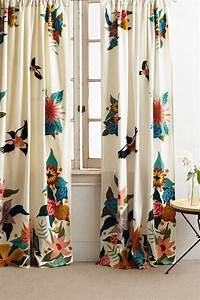 Soaring Starlings Curtain Anthropologie