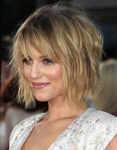 Coupe Cheveux Carré : coupe de cheveux carre court pour cheveux fins coiffure ~ Melissatoandfro.com Idées de Décoration
