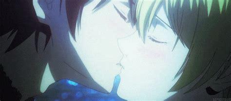 anime btooom kiss top 20 most passionate anime kiss scenes myanimelist net
