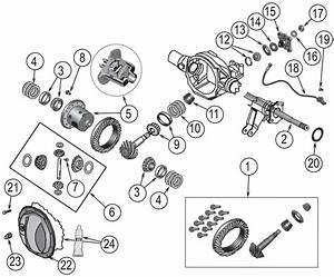 Jeep Grand Cherokee Wk Dana 44 Rear Axle Parts   U0026 39 05
