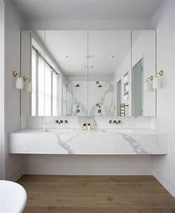 les 25 meilleures idees de la categorie salles de bains en With salle de bain design avec vasque en marbre