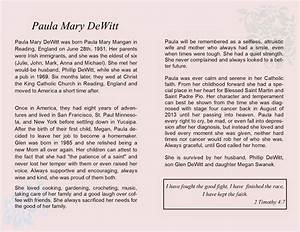we are all made of stars mom39s obituary eulogy With template eulogy mother