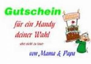 Gutschein Dein Handy : mama als gutschein 24 vorlagen muster gutscheinideen ~ Markanthonyermac.com Haus und Dekorationen