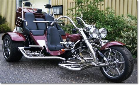 boom trike family muscle thunderbird trike motorcycle