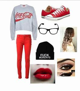 Red converse | Converse Outfit | Pinterest | Red converse ...