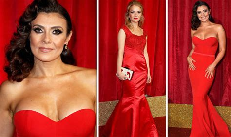 British Soap Awards 2016 Kym Marsh Leads Red Carpet