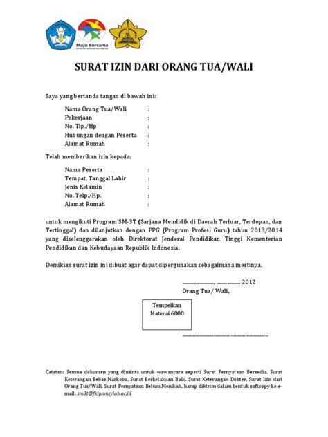 Prosedur cuti menikah dan contoh surat izinnya. Surat Izin Dari Orang Tua Pernyataan Belum Menikah Surat Pernyataan Bersedia Sm3t