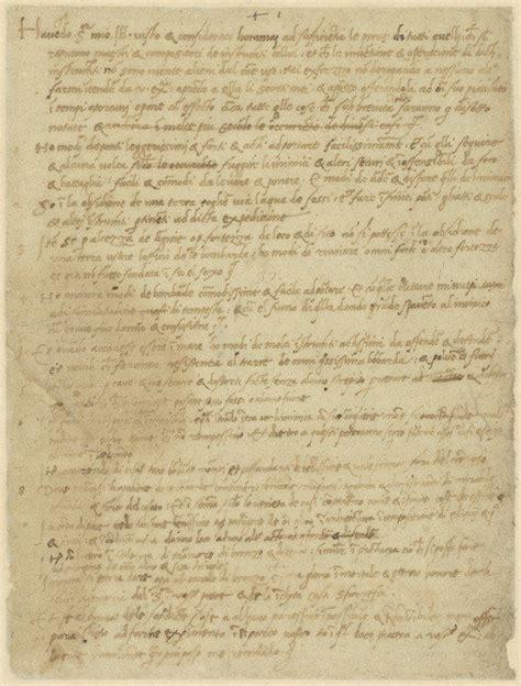 leonardo da vinci curriculum vitae レオナルド ダ ヴィンチが求職活動のために書いた自薦の手紙全文が公開中 gigazine