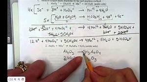 Balancing Complex Redox Reactions