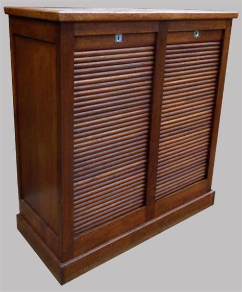 classeur de bureau à rideau classeur de bureau avec 2 colonnes de rangement