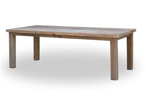 reclaimed pine dining table grey reclaimed teak