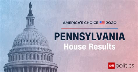 pennsylvania house election results  maps
