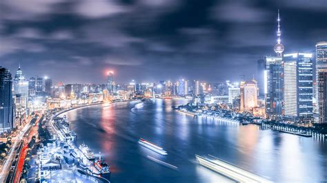 Beautiful City Shanghai Hd Wallpapers High Definition