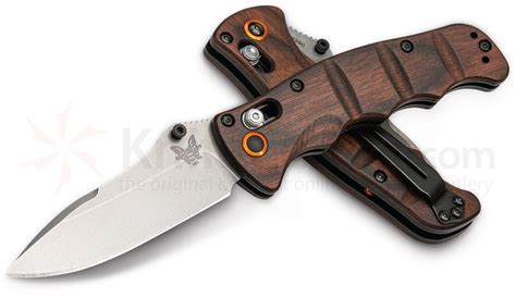 wooden handle kitchen knives benchmade 484 1601 nakamura axis folding knife 3 08 quot m390