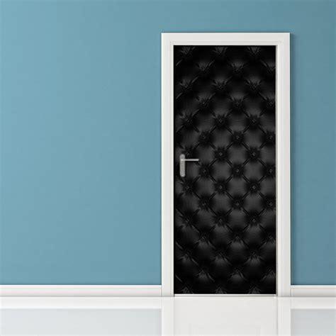 rivestimento porta ingresso adesivo per porte pelle nera