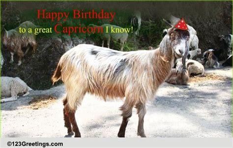 capricorn birthday   zodiac ecards greeting