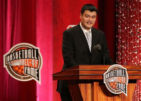Yao Ming Says He's Too Young For Hall Of Fame Induction
