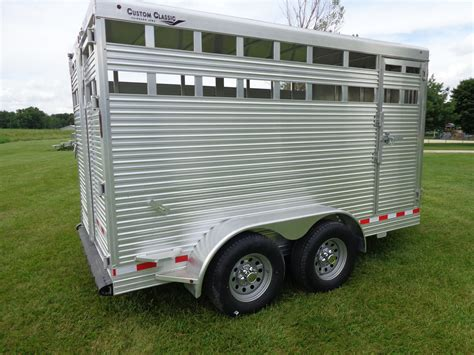 aluminum livestock trailer