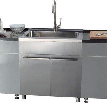 stainless steel kitchen sink cabinet ssc3636 36 inch stainless steel sink cabinet modern 8262