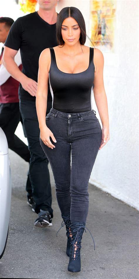 kim kardashian wests  street style moments instylecom