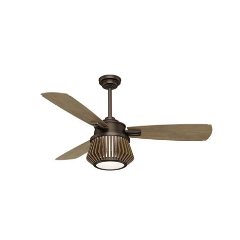 casablanca ceiling fans home depot casablanca glen arbor 56 in led indoor metallic chocolate