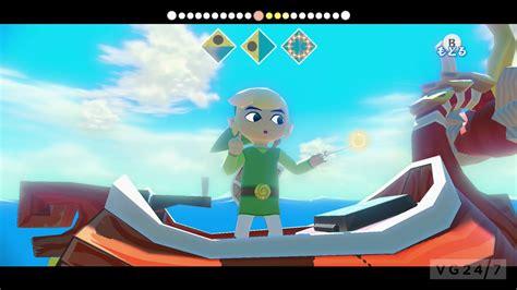 Zelda Wind Waker Hd Screens Show Combat Tingle