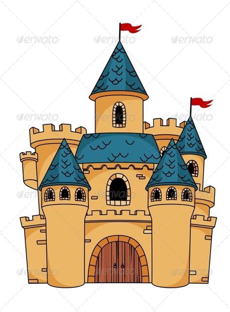 medieval cartoon castle princess castle cookies cakes