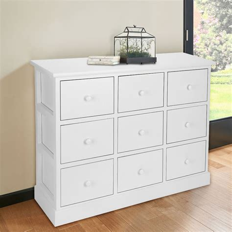 Bedroom Drawers White by Large Chest Of Drawers Bedroom Furniture White Wooden