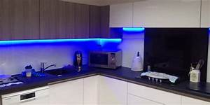 Kitchen Cupboard Lights How To Position Your Led Lights