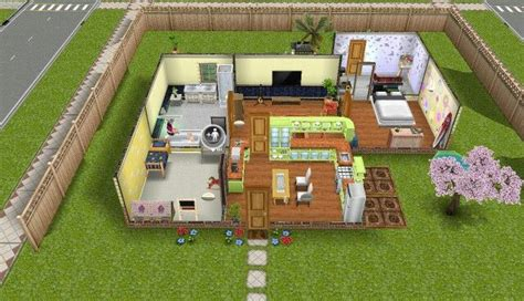 sims freeplay yellow themed house sims pinterest