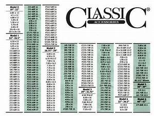 Tire Size Chart Comparison Chart Rv Wheel Covers 1 Pair 26 75 Quot To 29 Quot Wheel Diameter 76240