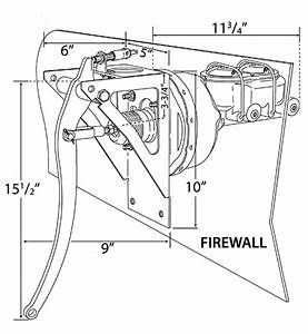 Universal Firewall Brake Pedal Assembly Diagram  Bbf