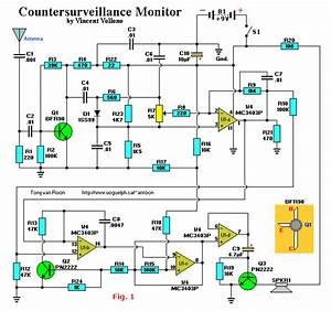 Surveillance Bug Circuit   Security Circuits    Next Gr